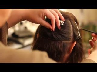 Как крепить волосы на заколках! Секреты.