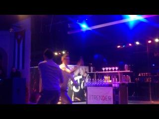 Бармен шоу в клубе Гавана BarTRENDER