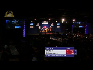 James Wade vs James Richardson (Dutch Darts Masters 2013 / First Round)