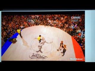 Just Debout DANCEHALL final battle // Anima & Steddy VS Baba Ragga & Katya Harchenko
