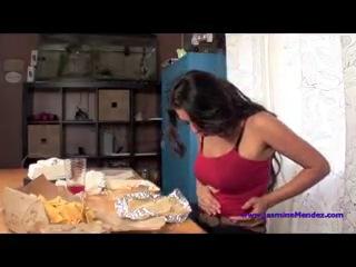 jasmine mendez vore  belly stuffing