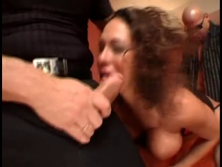 Ayla - Italian Milf fucked by two Bad Boys
