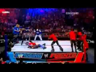WWE Bragging Rights 2010 Highlights