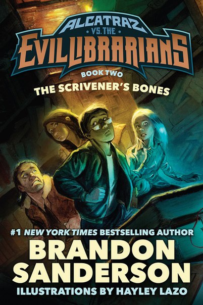 Brandon Sanderson - The Scrivener's Bones (Alcatraz 02)