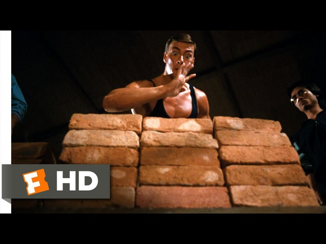 Bloodsport 5 9 Movie CLIP The Touch of Death 1988 HD