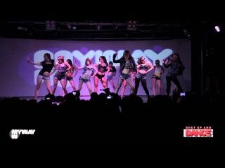 Hip-hop heels perfomance by Nika Lyfar  - Shut up and DANCE! Vol. 3