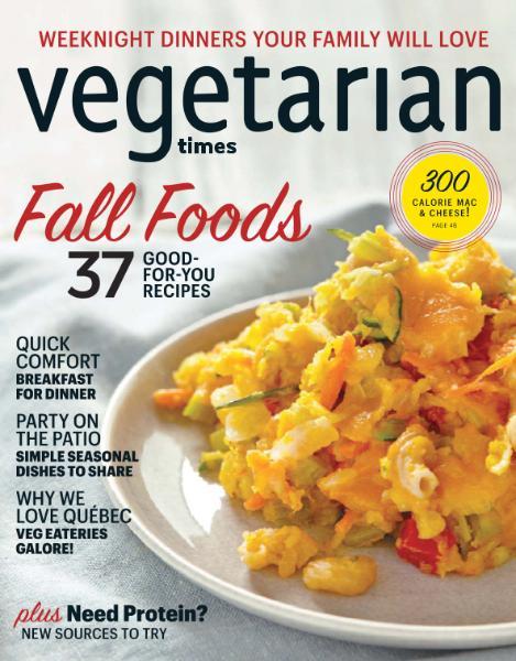 Vegetarian Times September-October 2016
