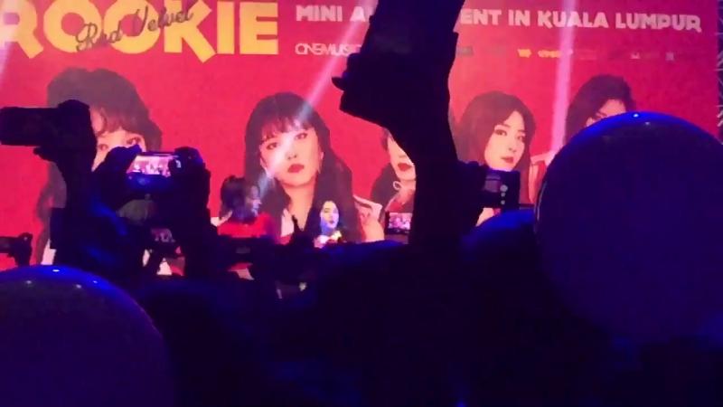 FANCAM FANCAM 170423 Red Velvet Ice Ceame Cake @ Rookie Mini Album Event