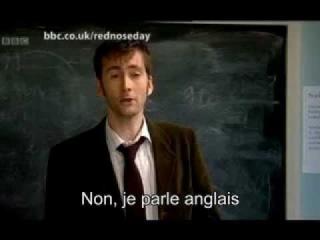 David Tennant tries to teach English to Catherine Tate VOSTFR