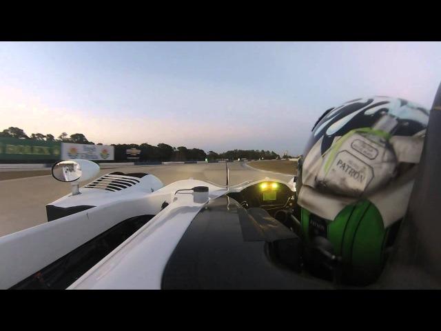 ESM Patrón's Ed Brown tries out new LMP2 car