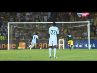 Victor Moses second penalty goal Ethiopia 0 - 2 Nigeria 29/01/2013