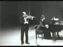 Michael Vaiman and Dina Yoffe play Prokofiev Violin Sonata No. 1 in F minor, Op. 80, mov. 4