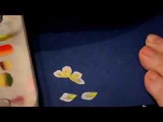 Учимся рисовать. Китайская роспись. Нарцисс.