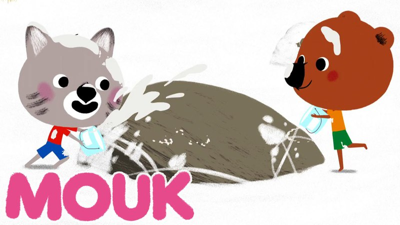 Mouk - It's all white at the top (Andes)   Cartoon for kids