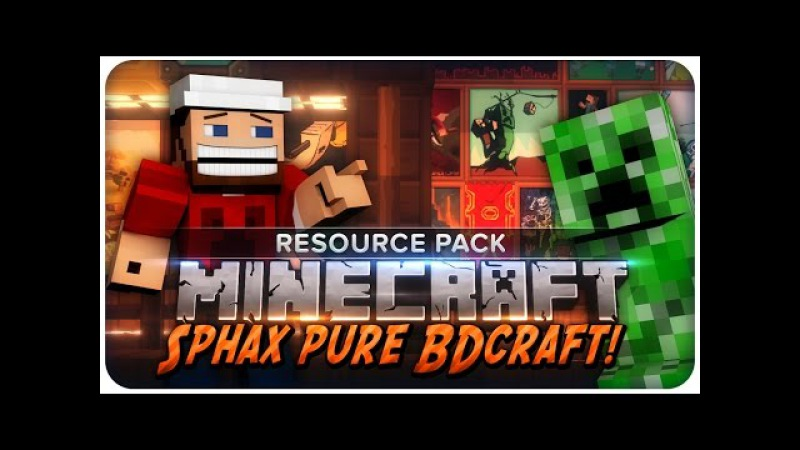 Minecraft Resource Pack: Sphax PureBDCraft 1.8 Texture Pack Review