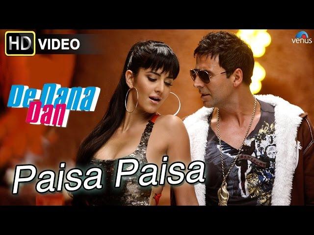 Paisa Paisa HD Full Video Song De Dana Dan Akshay Kumar Katrina Kaif Best Bollywood Songs