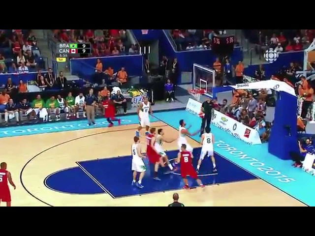 Anthony Bennett FULL Highlights vs Brazil Gold Medal Game 18pts,9rebs