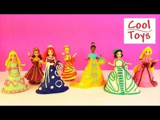 Disney Princess MagiClip Collection: ARIEL, BELLE  Doh - Hasbro