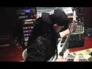 Mick Thomson recording for Slipknot's All Hope is Gone