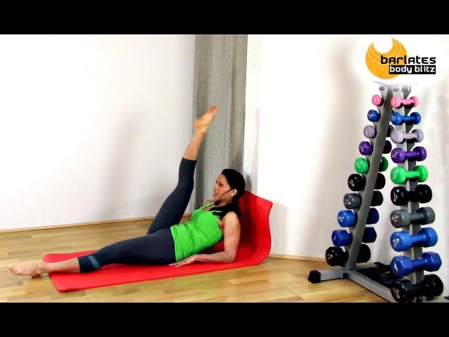 FREE Pilates Fusion Abdominals Core Workout Abs At The Wall BARLATES BODY BLITZ