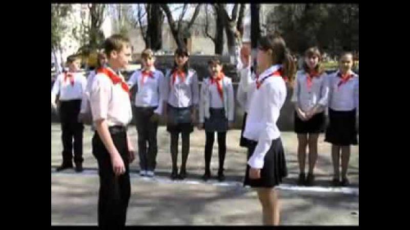 Гимн пионеров СССР Взвейтесь кострами синие ночи