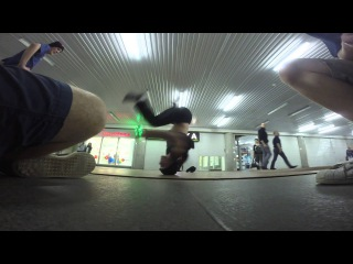 Bboy Manigy headspin practice