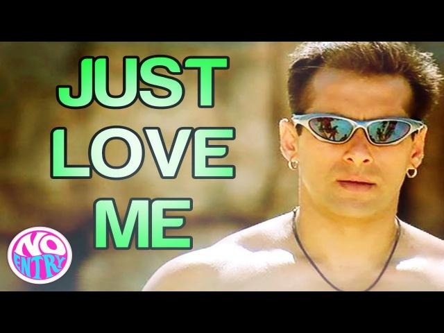 Just Love Me - Main Akela Video Song | No Entry | Salman Khan | Sonu Nigam | Anu Malik