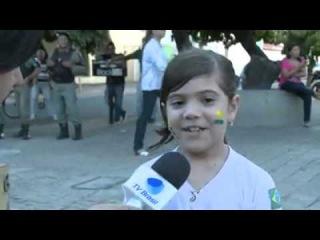 Ana Luiza sobre a manifestação contra o governo em Teresina