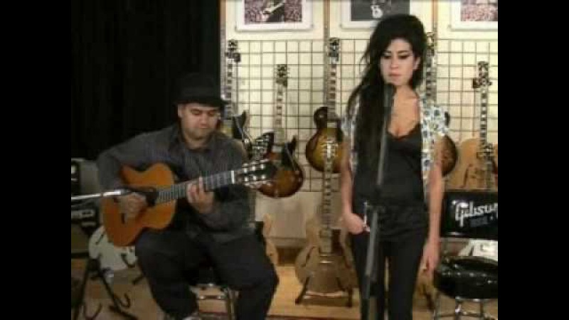 Amy Winehouse - Back To Black (Live Acoustic) - YouTube
