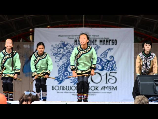 Танцевальный номер ансамбля Гивана. Наследие Мангбо