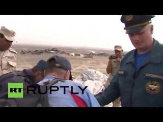 Egypt      Египет следователи собирают вещи российских жертв авиакатастрофы в Синай