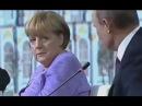 Ангела Меркель совсем не оценила юмор Путина Жесть