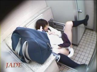 Hidden cam toilet masturbation jade extra 6
