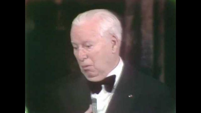 Charlie Chaplin's Honorary Award: 1972 Oscars