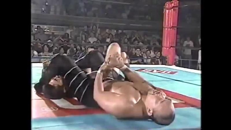 NJPW 02.07.1998 Takashi Iizuka/Tatsumi Fujinami vs. Kazuo Yamazaki/Kensuke Sasaki