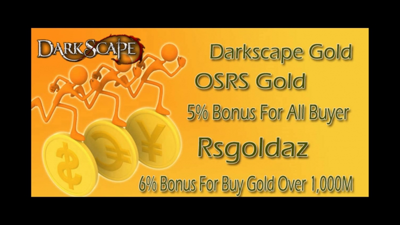 DarkScape Gold for Hot Sale with 6% bonus on