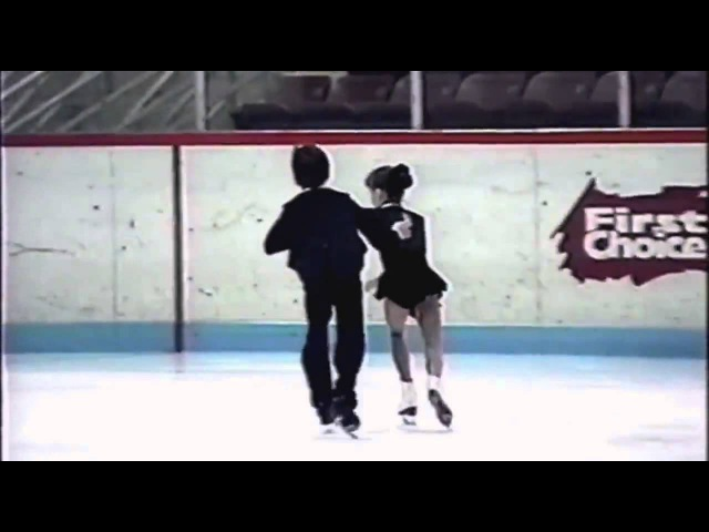 Tessa virtue and Scott moir in Competition (kids)