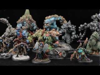 Painting Warmachine & Hordes: Troll Army Showcase / PaganFoam Video Response