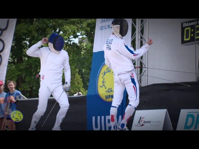 UIPM 2015 Senior World Championsips Men's Individual Highlights