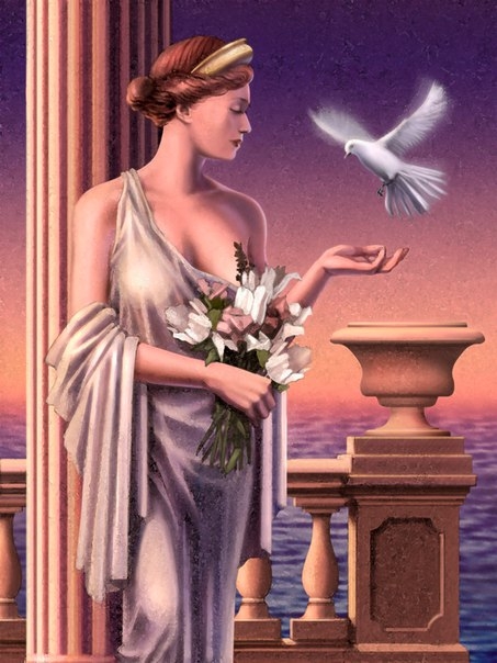 Картинки греческой богини любви и плодородия