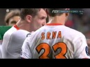 Barcelona - Shakhtar : Fight Messi x Srna [ UEFA Supercup ]