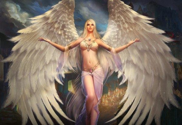 Обои На Рабочий Стол Ангелы Девушки