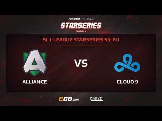 Alliance vs Cloud 9, Game 1, SL i-League StarSeries Season 3, EU