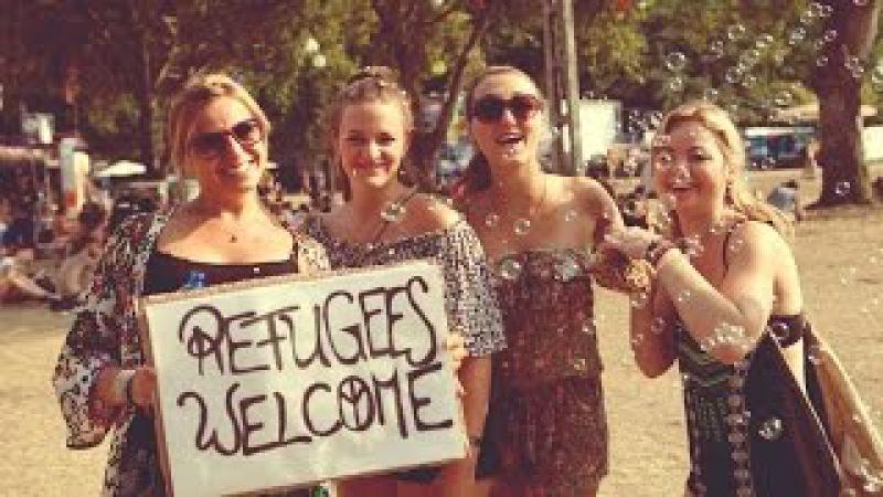 Migrant enttäuscht Flüchtlingshelfer