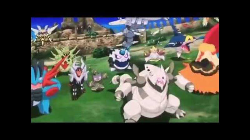 Pokemon The Movie Xyz Volcanion and Machanical Magearna New 10 Minutes Footage HD 4 2