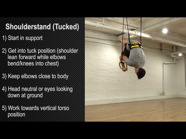 Ring Thing (Shoulderstand - Tucked)