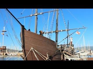 Одна из каравелл Христофора Колумба, Пинта - La Pinta, Baiona