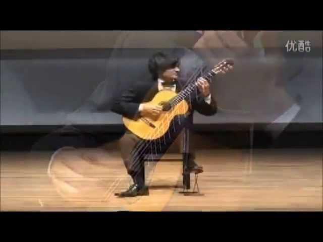 András Csáki 51st Tokyo International Guitar Competition 2008 Winner