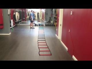 Упражнения с лесенкой для координации и ускорения