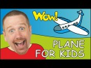 Plane and Boat for Kids Steve and Maggie English for Children